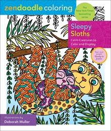 Zendoodle Coloring: Sleepy Sloths Book Cover - Click to open Top Sellers panel