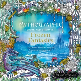 Mythographic Color and Discover: Frozen Fantasies Book Cover - Click to open New Releases panel