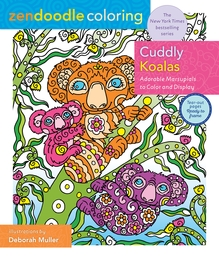 Zendoodle Coloring: Cuddly Koalas Book Cover - Click to open New Releases panel