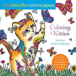 Zendoodle Colorscapes: Calming Kitties Book Cover - Click to open New Releases panel