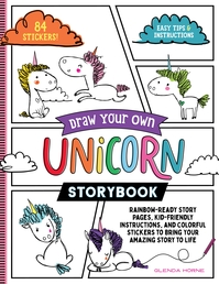 Draw Your Own Unicorn Storybook Book Cover - Click to open New Releases panel
