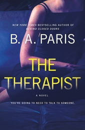 The Therapist Book Cover - Click to open Top Sellers panel