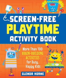 Screen-Free Playtime Activity Book Book Cover - Click to open New Releases panel