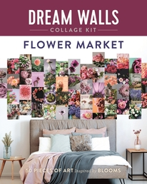 Dream Walls Collage Kit: Flower Market Book Cover - Click to open New Releases panel