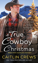 A True Cowboy Christmas Book Cover - Click to open Top Sellers panel