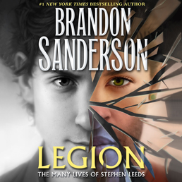 Legion: The Many Lives of Stephen Leeds Book Cover - Click to open Audiobooks panel