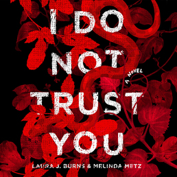 I Do Not Trust You Book Cover - Click to open Young Listener panel