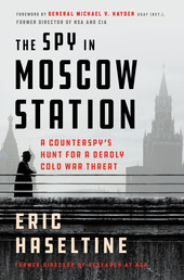 The Spy in Moscow Station Book Cover - Click to open Coming Soon panel