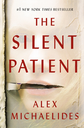The Silent Patient Book Cover - Click to open Top Sellers panel