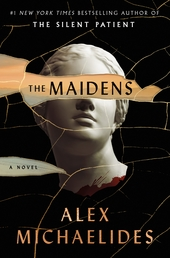 The Maidens Book Cover - Click to open Top Sellers panel