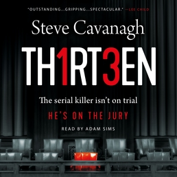 Thirteen Book Cover - Click to open Audiobooks panel