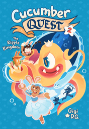 Cucumber Quest: The Ripple Kingdom Book Cover - Click to open :01 Collection panel