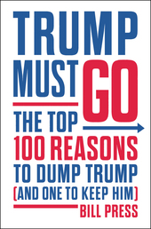 Trump Must Go Book Cover - Click to open New Releases panel