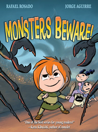 Monsters Beware! Book Cover - Click to open :01 Collection panel