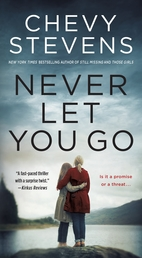 Never Let You Go Book Cover - Click to open Coming Soon panel
