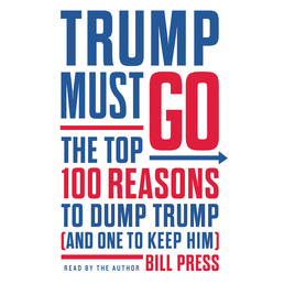 Trump Must Go Book Cover - Click to open Audiobooks panel