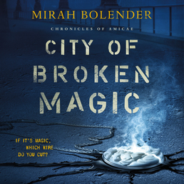 City of Broken Magic Book Cover - Click to open Audiobooks panel