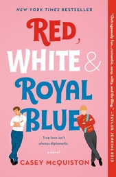 Red, White & Royal Blue Book Cover - Click to open Top Sellers panel