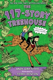The 117-Story Treehouse Book Cover - Click to open Macmillan Kids panel