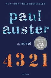 4 3 2 1 Book Cover - Click to see book details