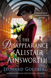 The Disappearance of Alistair Ainsworth Book Cover - Click to open Coming Soon panel