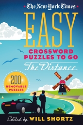 The New York Times Easy Crossword Puzzles to Go the Distance Book Cover - Click to open New Releases panel