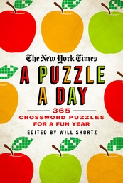 The New York Times A Puzzle a Day Book Cover - Click to open New Releases panel
