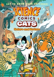 Science Comics: Cats Book Cover - Click to open :01 Collection panel
