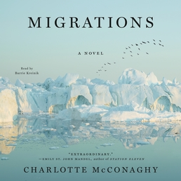 Migrations Book Cover - Click to open Audiobooks panel