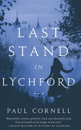 Last Stand in Lychford Book Cover - Click to open New Releases panel