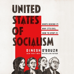 United States of Socialism Book Cover - Click to open Audiobooks panel