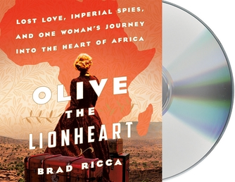 Olive the Lionheart Book Cover - Click to open Coming Soon panel