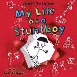 My Life as a Stuntboy Book Cover - Click to open Young Listener panel