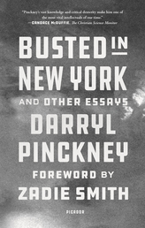 Busted in New York and Other Essays Book Cover - Click to open New Releases panel