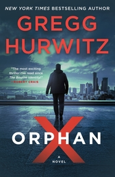 Orphan X Book Cover - Click to open Coming Soon panel