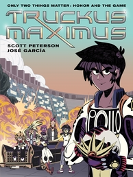 Truckus Maximus Book Cover - Click to open :01 Collection panel