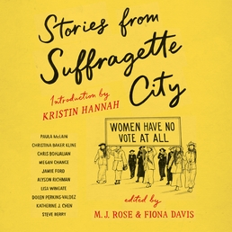 Stories from Suffragette City Book Cover - Click to open Audiobooks panel