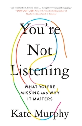 You're Not Listening Book Cover - Click to open New Releases panel