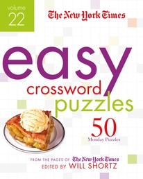 The New York Times Easy Crossword Puzzles Volume 22 Book Cover - Click to open New Releases panel