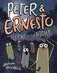 Peter & Ernesto: Sloths in the Night Book Cover - Click to open :01 Collection panel