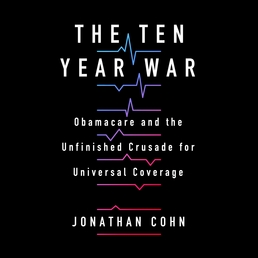 The Ten Year War Book Cover - Click to open Audiobooks panel