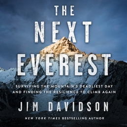 The Next Everest Book Cover - Click to open Audiobooks panel