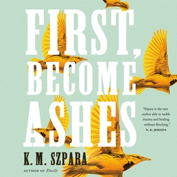 First, Become Ashes Book Cover - Click to open Audiobooks panel