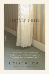 Strange Hotel Book Cover - Click to open New Releases panel