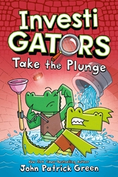 InvestiGators: Take the Plunge Book Cover - Click to open :01 Collection panel