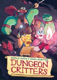 Dungeon Critters Book Cover - Click to open :01 Collection panel