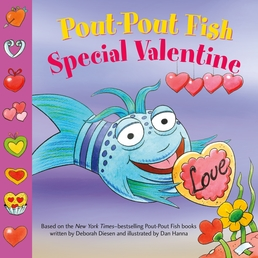 Pout-Pout Fish: Special Valentine Book Cover - Click to open Young Listener panel