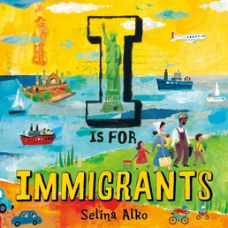 I Is for Immigrants Book Cover - Click to open New Releases panel