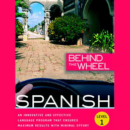 Behind the Wheel - Spanish 1 Book Cover - Click to open Behind the Wheel panel