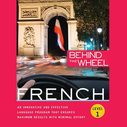Behind the Wheel - French 1 Book Cover - Click to open Behind the Wheel panel